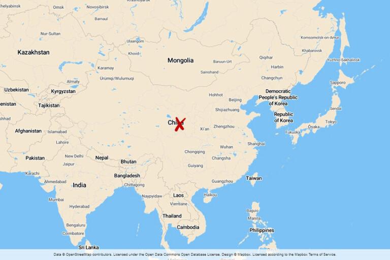Tusentals sjuka efter labbläcka i Kina