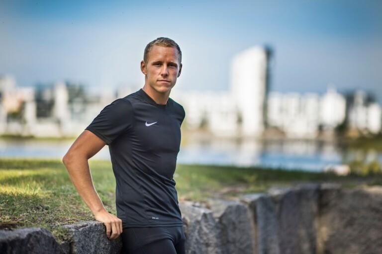 Fotbollsdomare ambassadör för Ironman