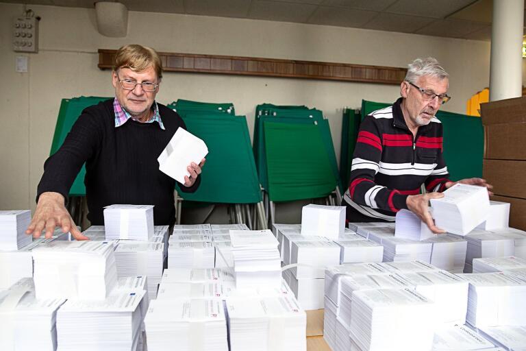 Kommunsekreterare Per Nygren administrerar EU-valet i Oskarshamn.