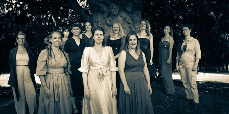 Kvinnoorkestern till Växjö för första gången
