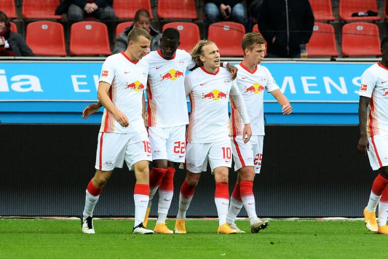 Drömmål av Forsberg i Bundesliga