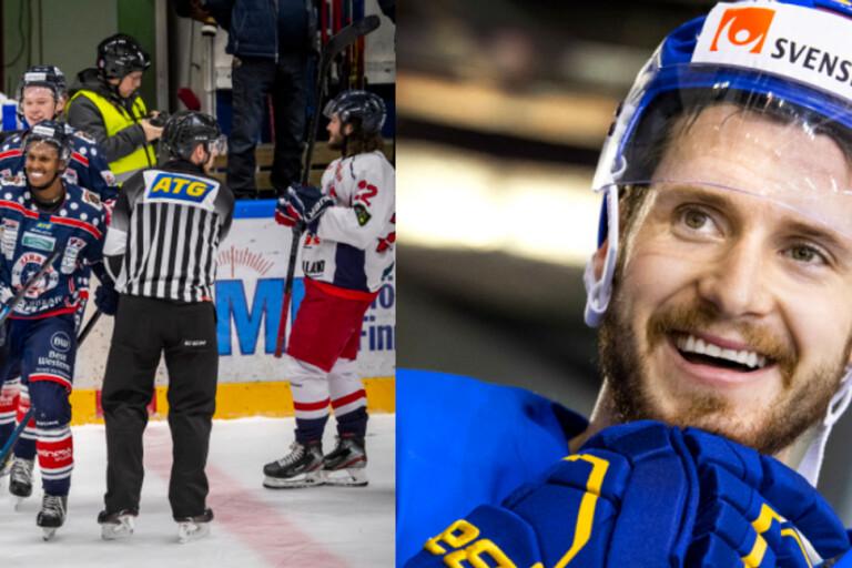 Bruten fot och NHL-spelare i Mörrum