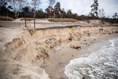 """Åtgärderna mot erosionen ifrågasätts –""""det saknas ett nytänkande"""""""