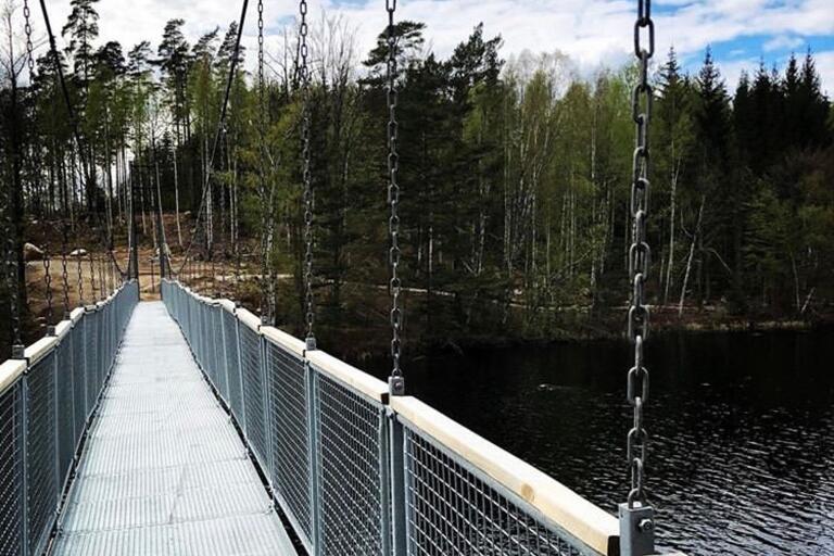 Pernilla Berghé betar av Blekinges naturreservat och tipsade om vandringar som är lagom långa en lördag.