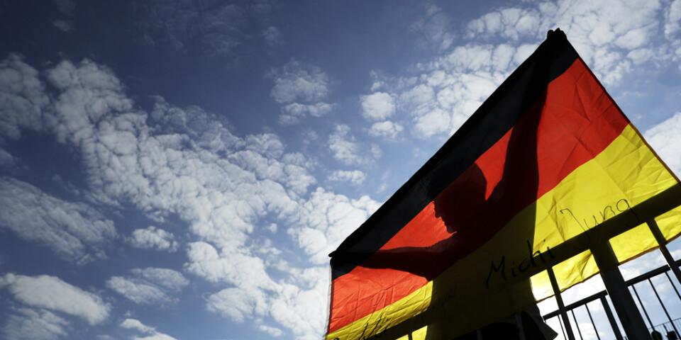 Tysklands regering ser ljusare ut på det ekonomiska läget. Arkivbild.
