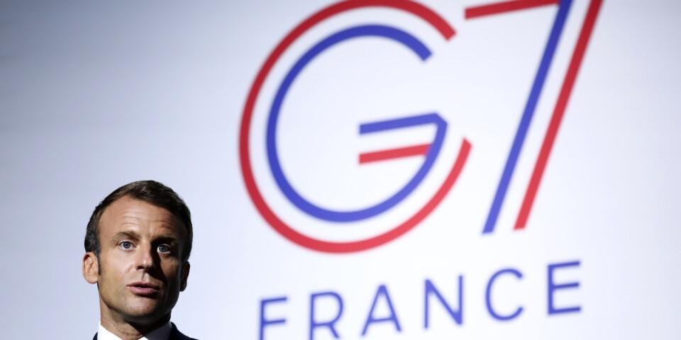 Frankrikes president Emmanuel Macron.