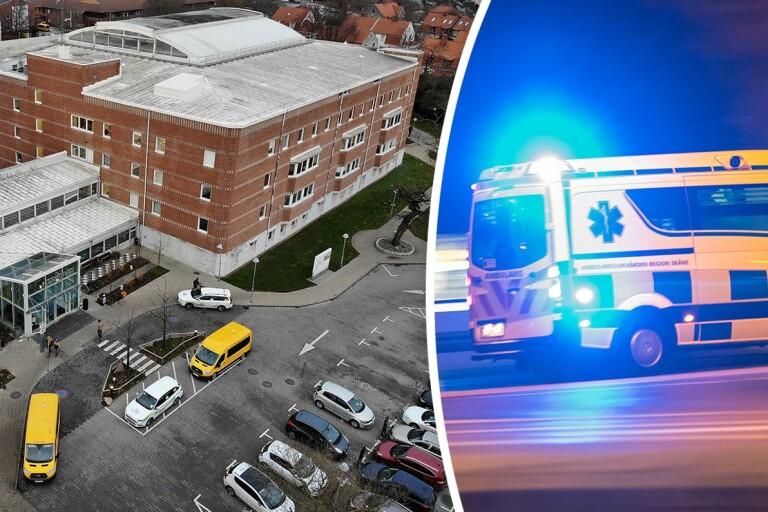 Kvinnan fördes till akuten där hon efter en timmes hjärt- och lungräddning förklarades död.