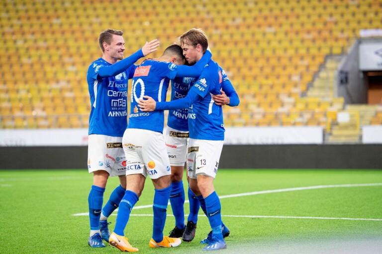 Strömbergs hattrick gav Norrby segern