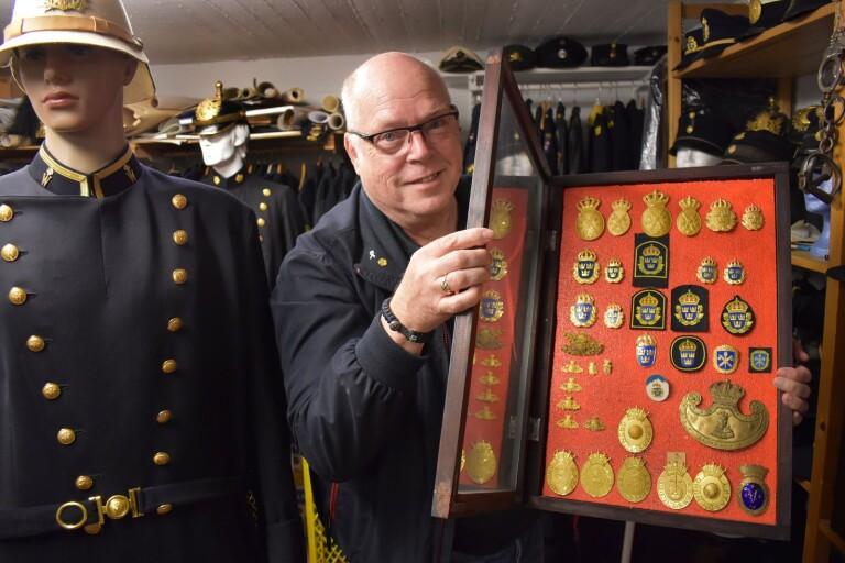 Jörgen Sjöbloms samling speglar polishistorien