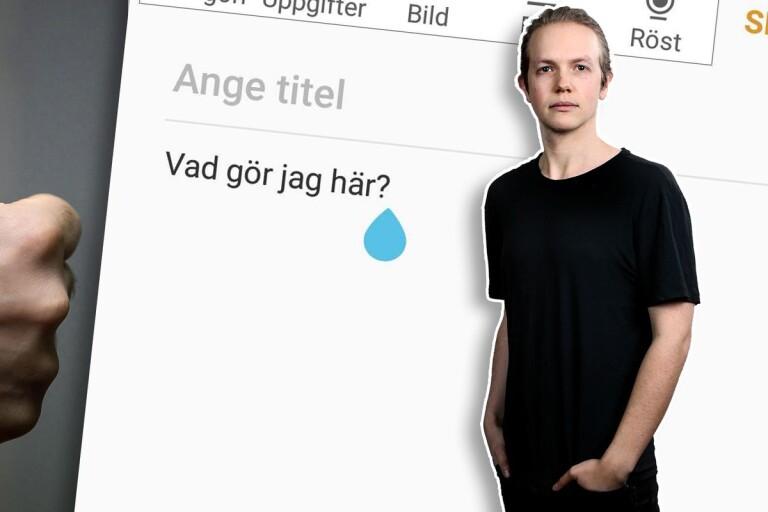"""Anton Lernstål: Därför öppnar jag """"fel"""" app hela tiden"""