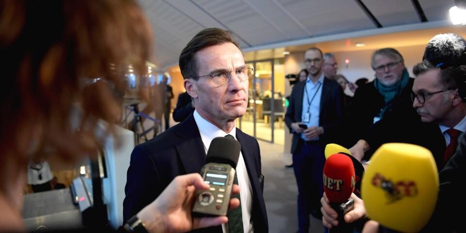 M-ledaren Ulf Kristersson vill möta väljarna igen.