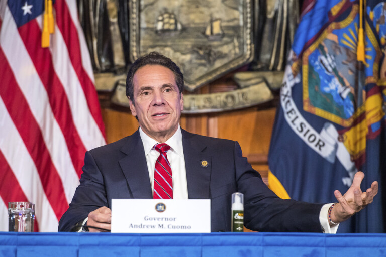 New Yorks guvernör prisas av Emmyjuryn