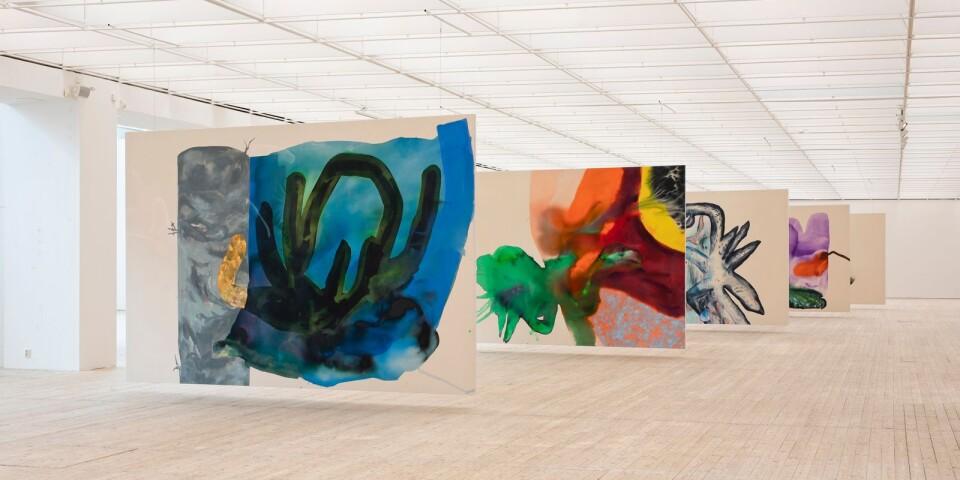 Del av Ragna Bleys utställning på Malmö konsthall.