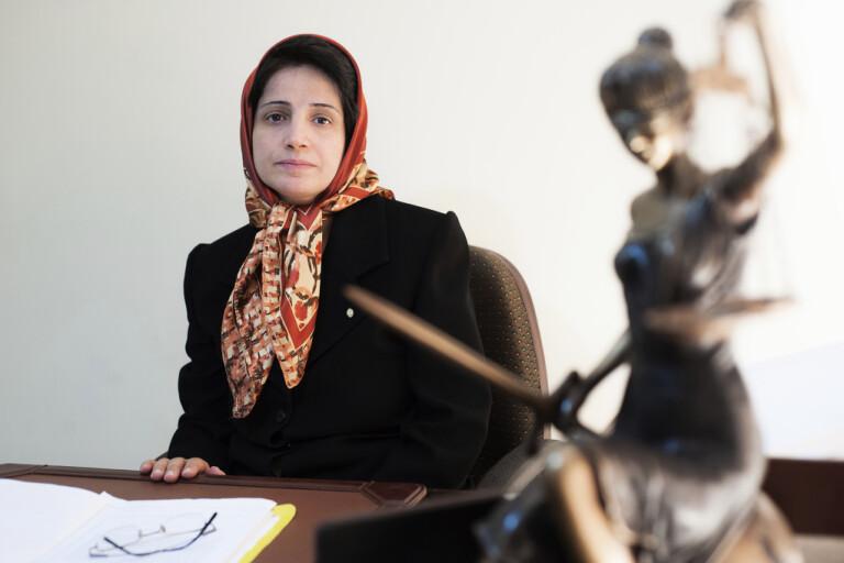 Hungerstrejkande aktivist i Iran till sjukhus