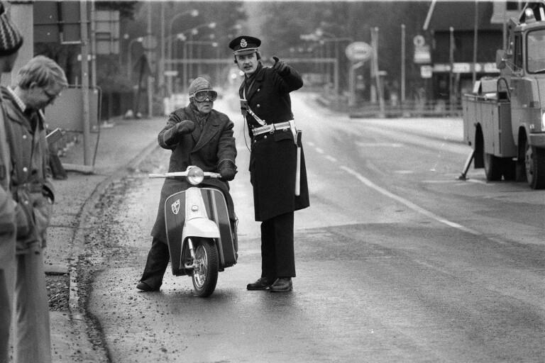 """""""Här får ni inte köra"""" - Polismannen minns tillbaka 45 år"""