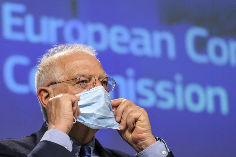Sanktioner mot Kina är inte rätta vägen, tycker EU:s utrikeschef Josep Borrell. Arkivbild.