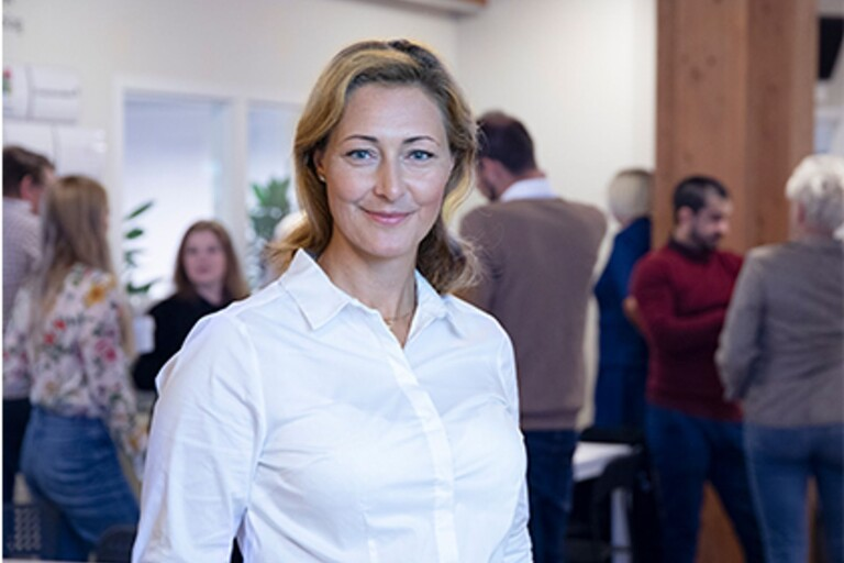 Hon vill ge fler företag hjälp att växa