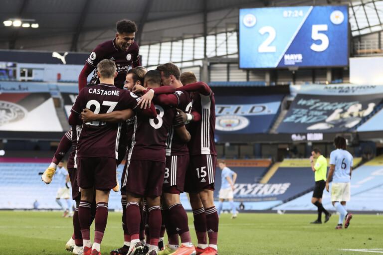 Leicesters knall – körde över Manchester City
