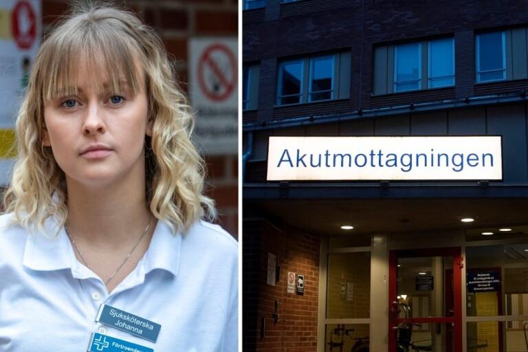 """Vårdpersonal i Växjö larmar om utmattning: """"Vi går stundtals på knäna"""""""