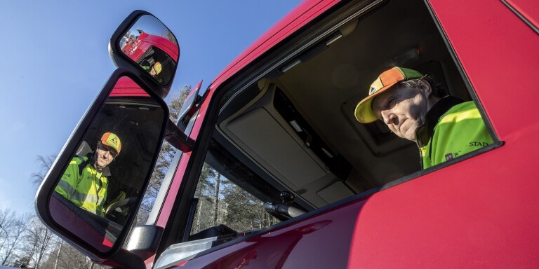 TV: Så fungerar grushanteringen i Borås – nytt system underlättar för chaufförerna