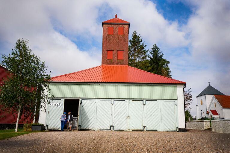 Brandstationen i Grönby är omgjord till museum och öppen för allmänheten.