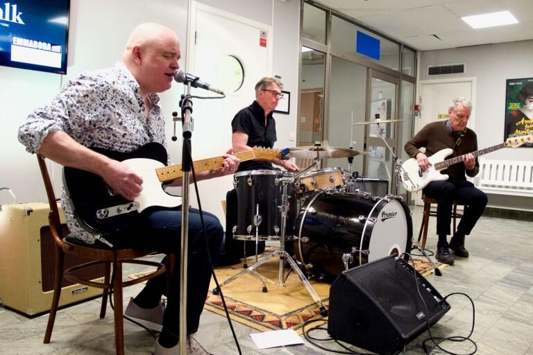 Torsås: Blues band spelar i Folkets hus