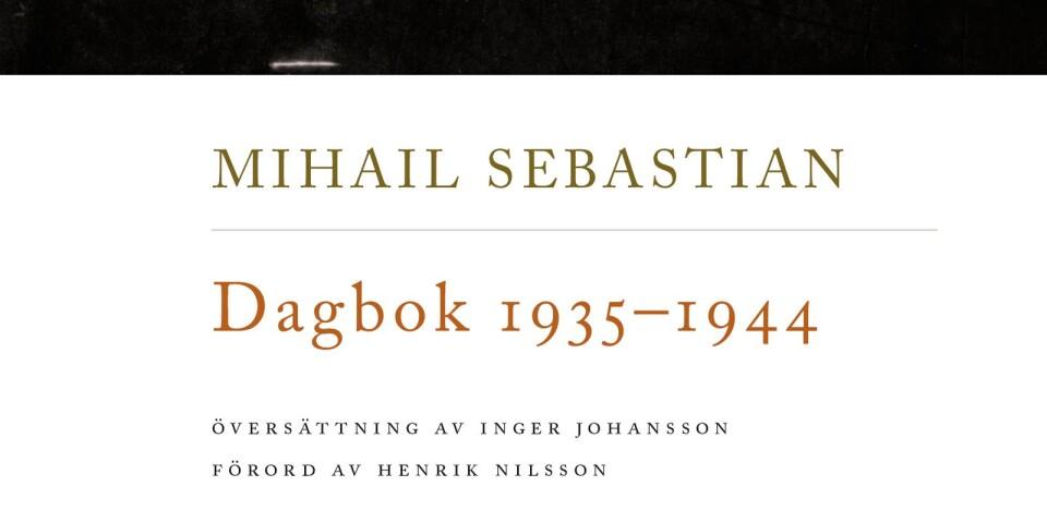 """Omslaget till nu aktuella """"Dagbok 1935-1944""""."""