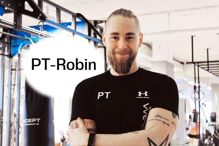 """PT-Robin: """"Ett steg bakåt kan ge två steg framåt"""""""
