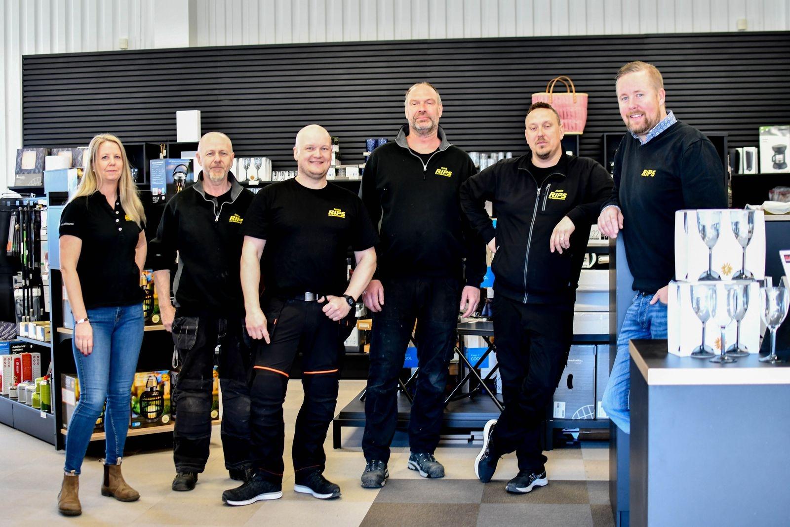 """""""Företagets styrka ligger i medarbetarna, det är ett jättebra gäng och vi har väldigt roligt tillsammans"""", säger Martin Wirén (t.hö. i bild)."""