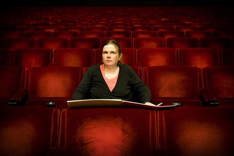 Britta Byström, tonsättare. Arkivbild.