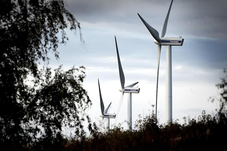 Stor majoritet säger nej till vindkraftverk