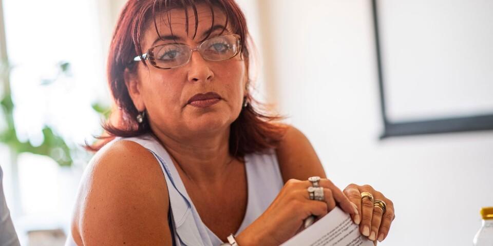 Dzenita Abaza (S), kommunalråd och ordförande i lokala Brottsförebygganderådet.
