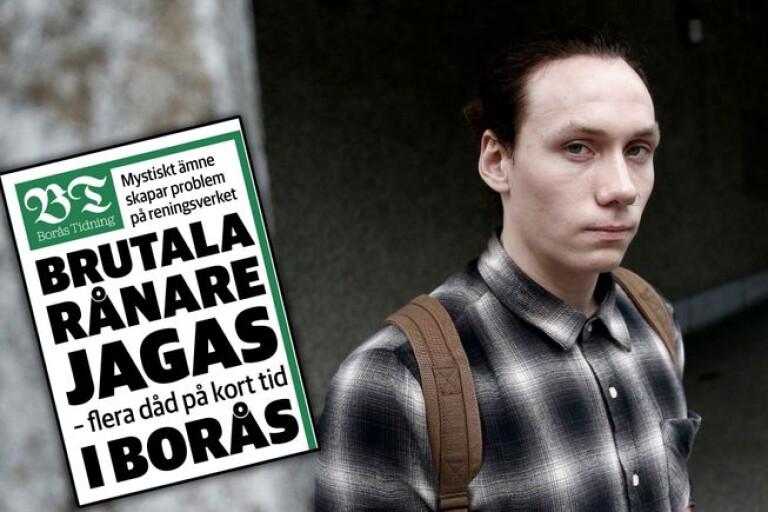 """Ludvig, 22, en av de utsatta: """"Adrenalinet pumpade"""""""