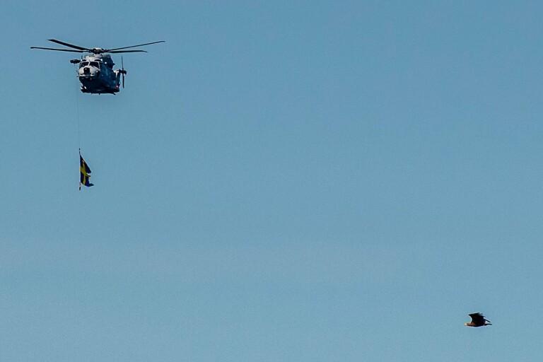 Här foto-bombas försvarets stora invigning