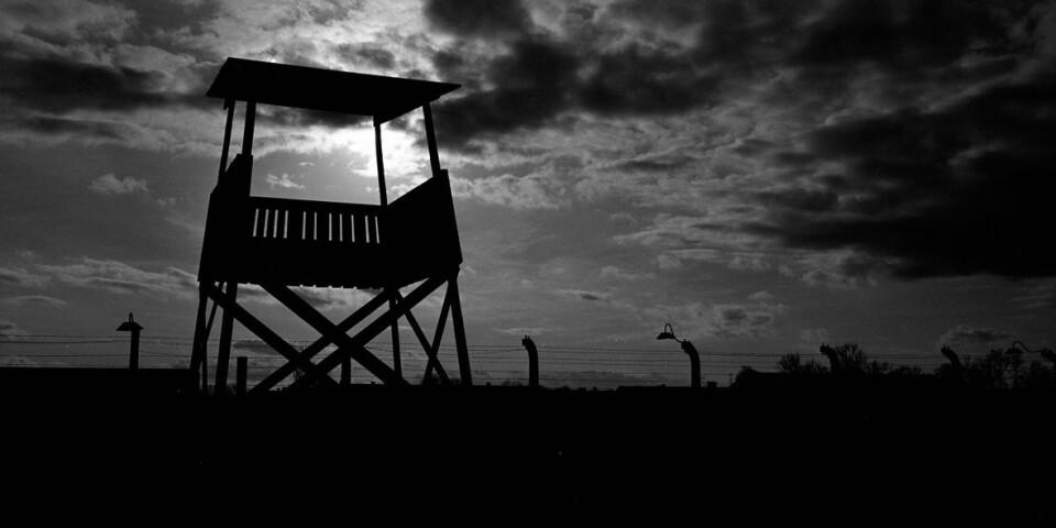 Ett vakttorn i Auschwitz Birkenau, en del av den europeiska historien.