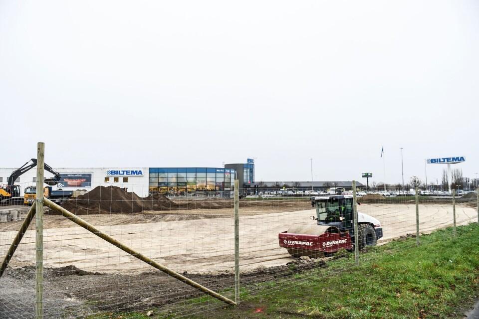 Utbyggnaden görs i två etapper. I slutet av 2021 ska allt vara klart.