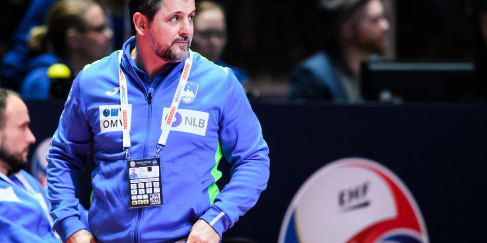 Sloveniens svenske förbundskapten Ljubomir Vranjes.