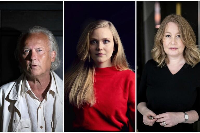 BOKTOPPEN: Klas Östergren och Felicia Stenroth går in på listan