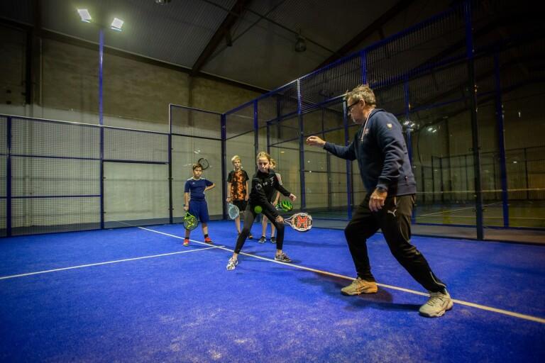 Trelleborgs Padelklubb hoppas växa med hjälp av ungdomar