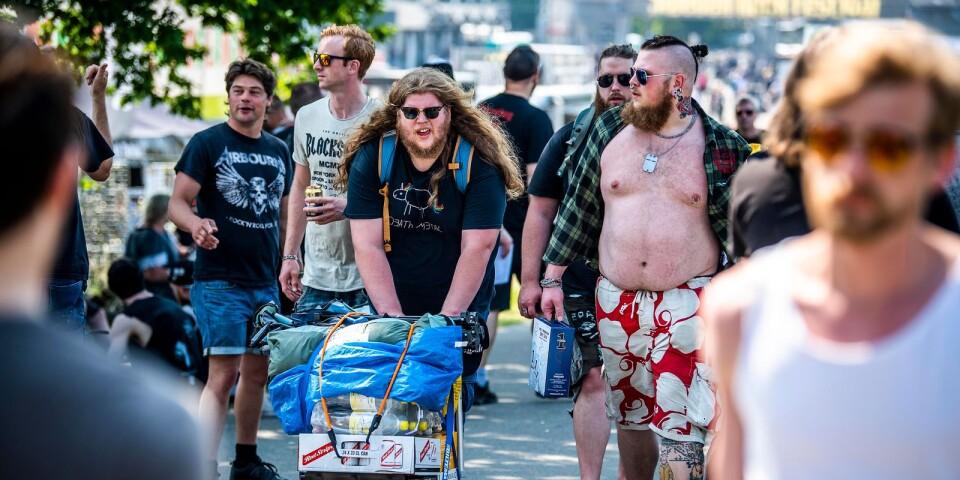 Sweden rock festival 2019 är igång.