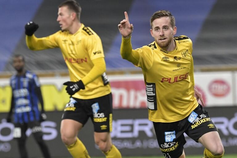 """Europaplats på spel – då gjorde Alm sitt karriärs första nickmål: """"Inte min styrka direkt"""""""