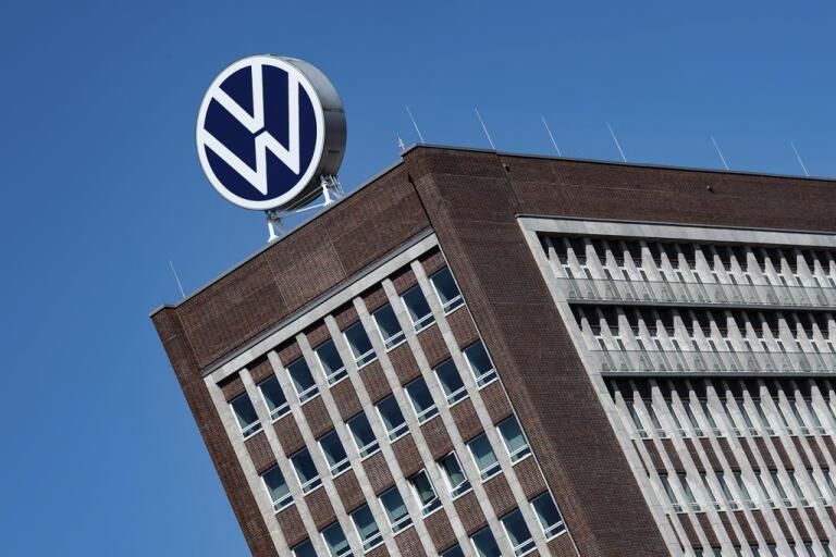 Volkswagens huvudkontor i Wolfsburg, Tyskland.