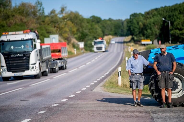 Vändningen: Kommunen positiv till sänkt fart på E22