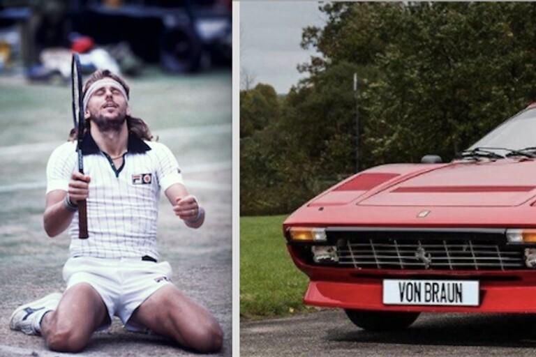 Sjuhärad: Nu säljs legendarens Ferrari – i Skene