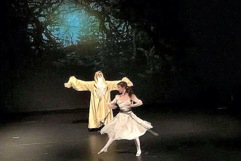 Dansföreställning till Bollebygd