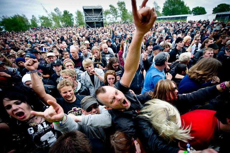 Kommunen stöttar Sweden Rock med över en miljon i år