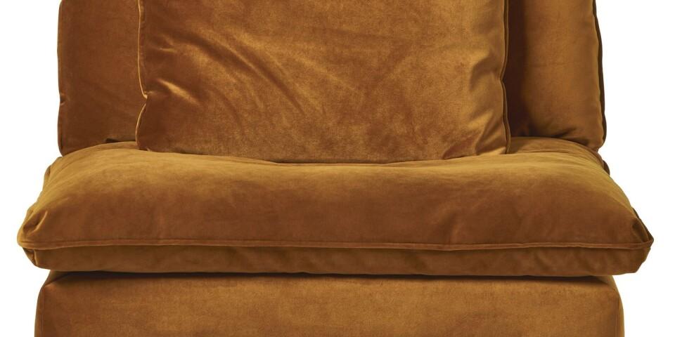 Fåtölj i sammet, Bellora, Mio, 5995 kr.