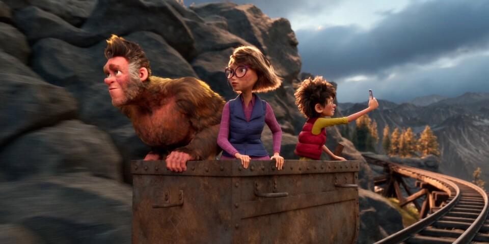 """""""Familjen Bigfoot"""" har ett lovvärt men kantigt artikulerat budskap som kan sammanfattas med att olja är smutsigt och oljebolag är avskum."""