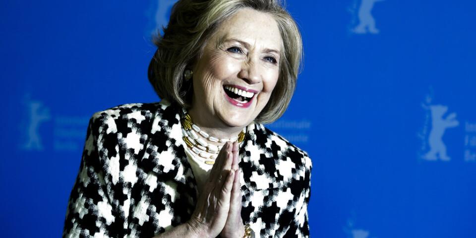 """Hillary Clintons liv skildras i tv-serien """"Hillary"""", som nu visas på filmfestivalen i Berlin."""