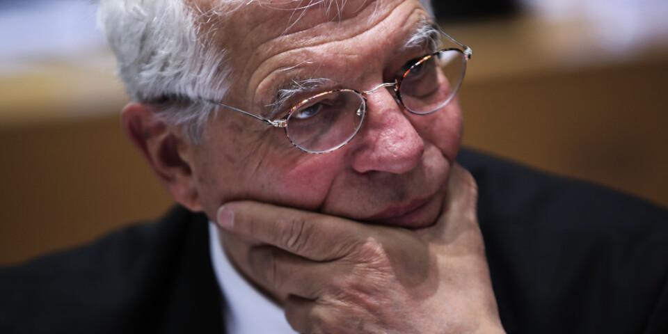 EU:s utrikeschef Josep Borrell. Arkivbild.